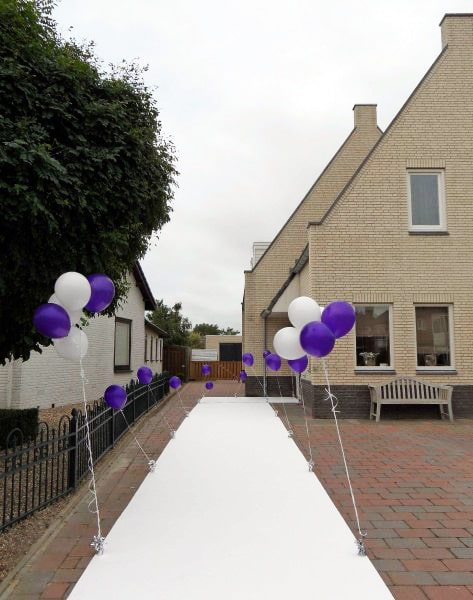 Thema royal purple in style styling en decoraties - Paarse kamer en witte ...